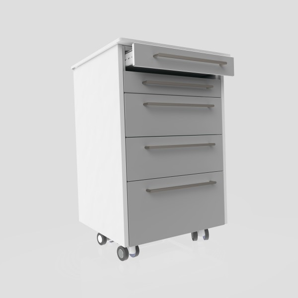 Credenza - Medical cabinet Trolley